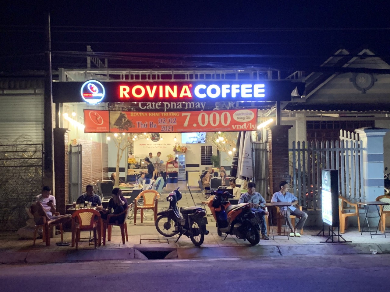 mở quán cafe