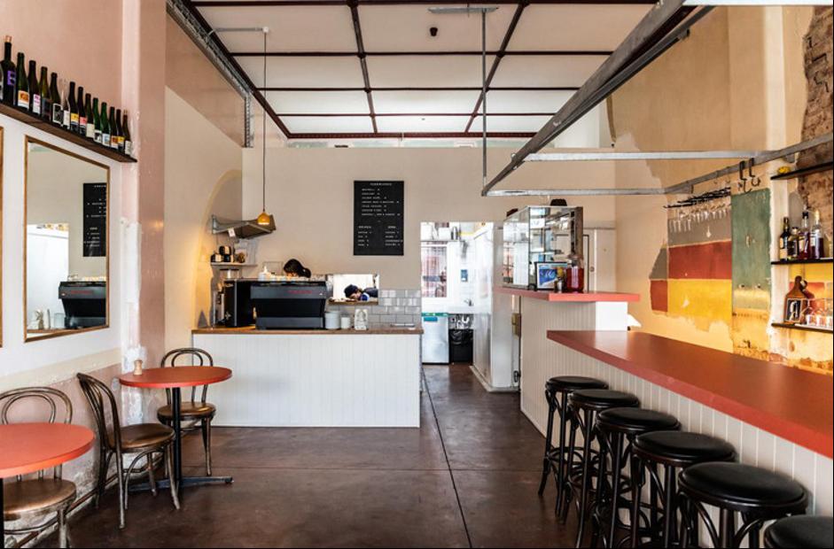 setup quán cà phê